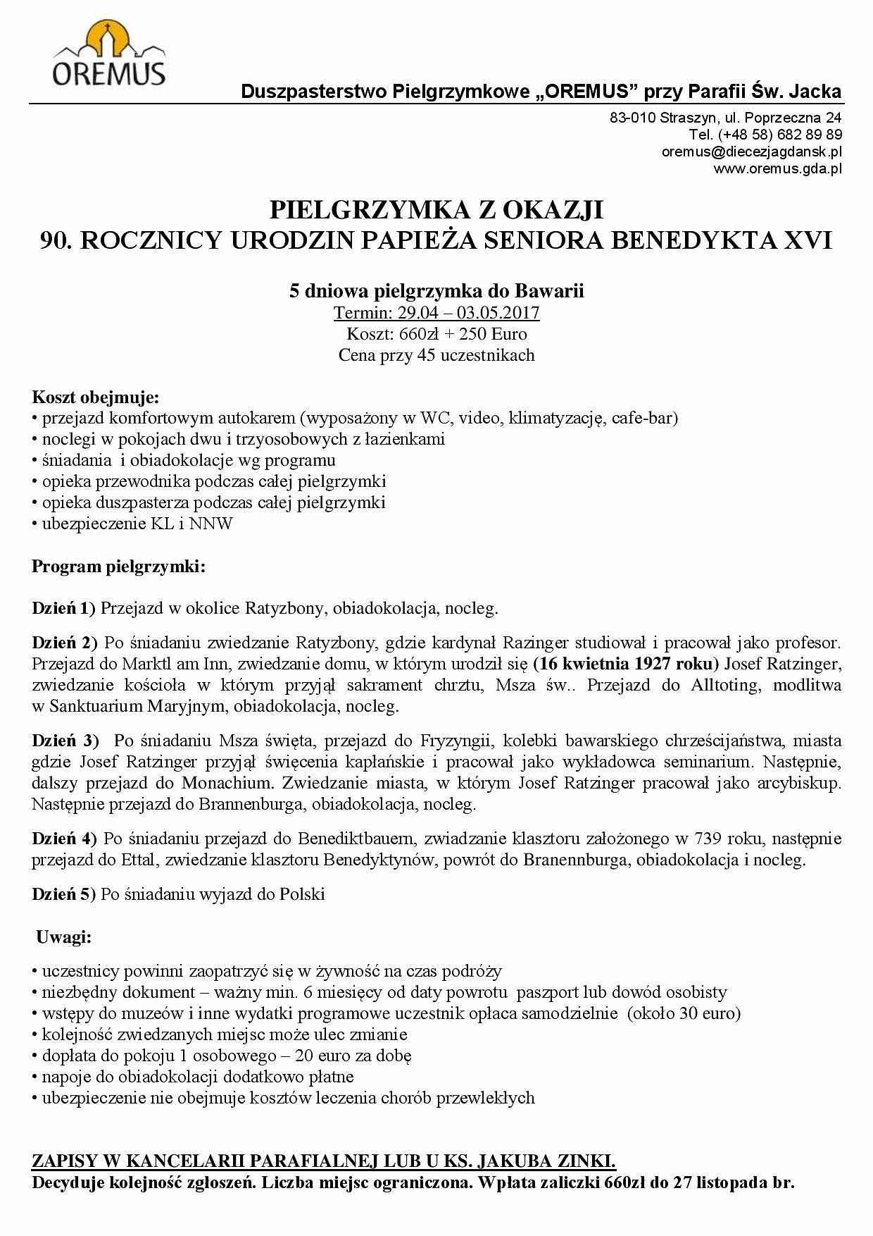 bawaria-2016-program