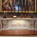 Grób św. Jana Pawła II