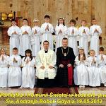 Uroczystość Pierwszej Komunii Świętej(19/05/2012 r.)